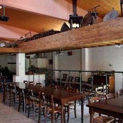 sala ristorante dell'Agriturismo Corte del Gallo - Val Trebbia - Piacentino